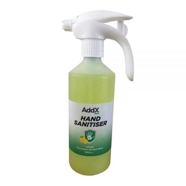 hand sanitiser spray 500ml