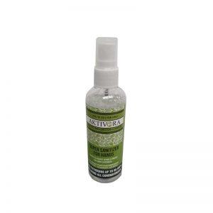 Aktivora non-alcoholic hand sanitiser spray 100ml
